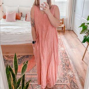 """Flax pink dress """"I am legendary"""" Sz L"""